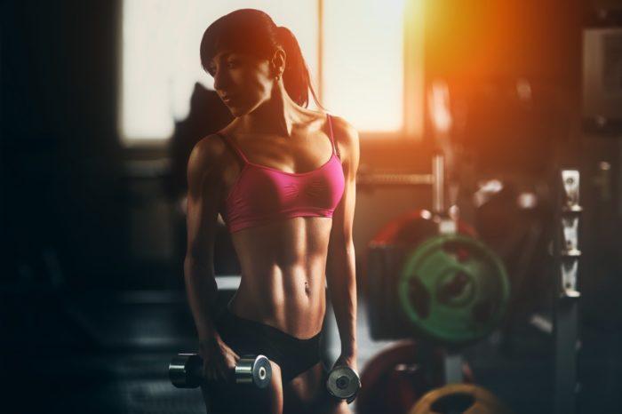 Beautiful Bodybuilding Woman