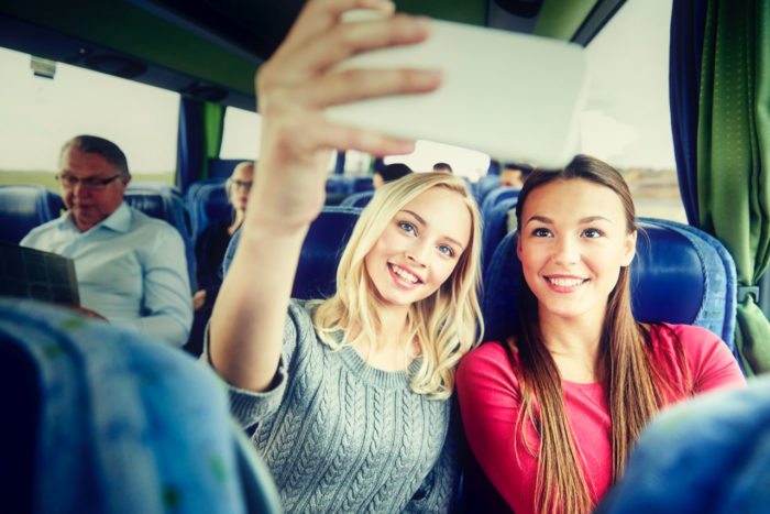 Instagrammers on the Bus