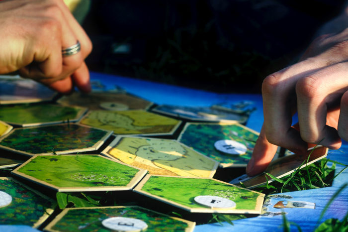 Settlers of Catan Outdoors