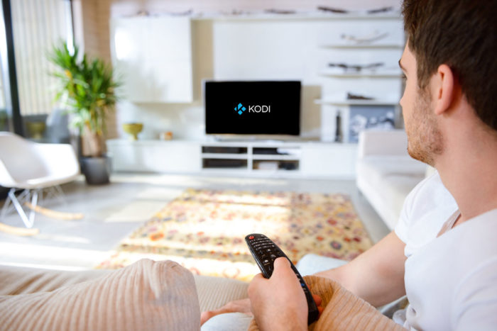 Guy Watching Kodi